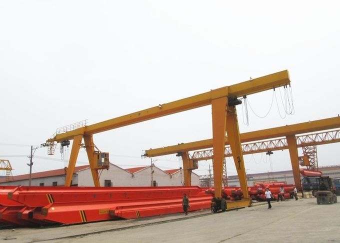 10 Ton A Frame Industrial Gantry Crane Single Beam , Electric Hoist ...